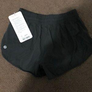 Size 4 Lululemon running shortsNWT